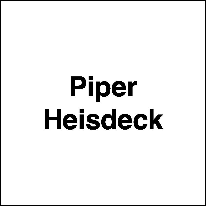 Piper Heisdeck